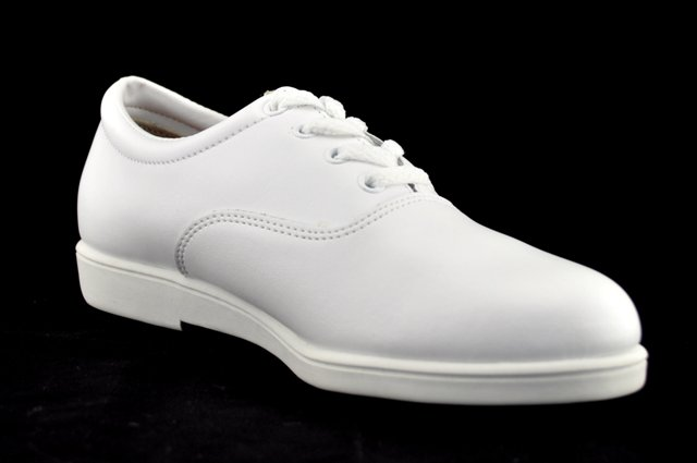 dinkles vanguard marching shoes white marching world