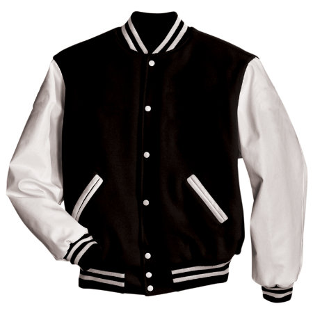 Award Varsity Jacket - Black & White