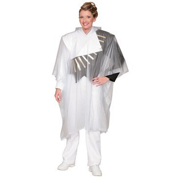 Vinyl Poncho With Side Snap