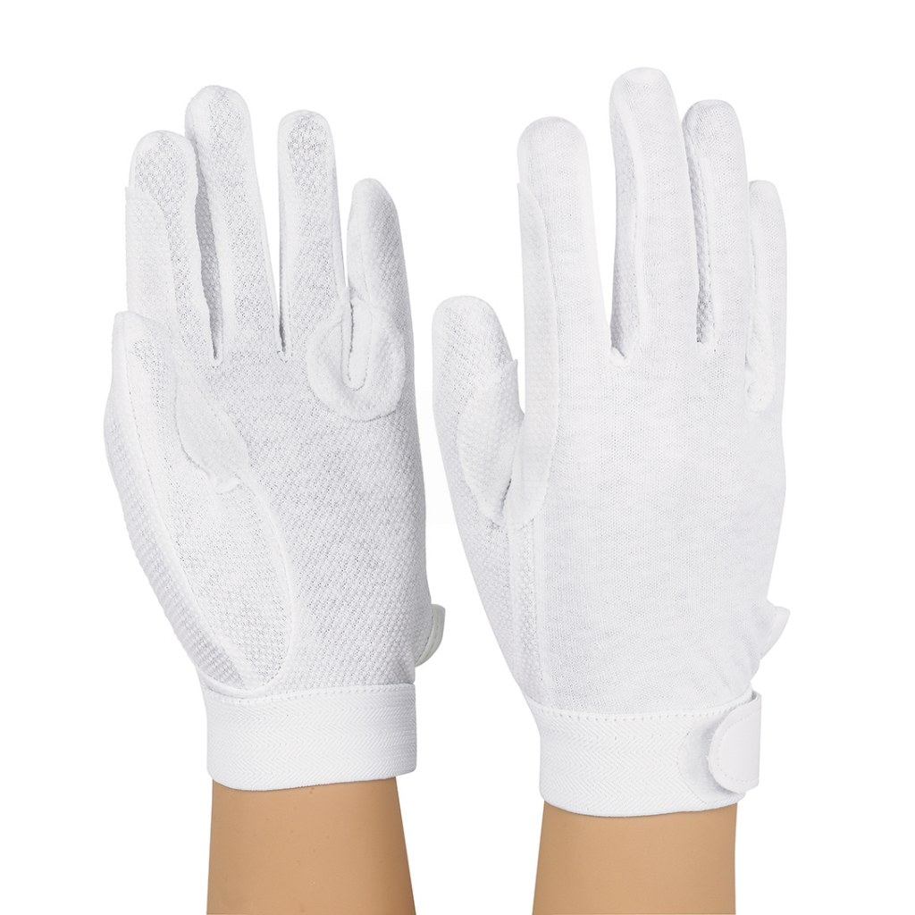 StylePlus Deluxe Sure-Grip Gloves – White