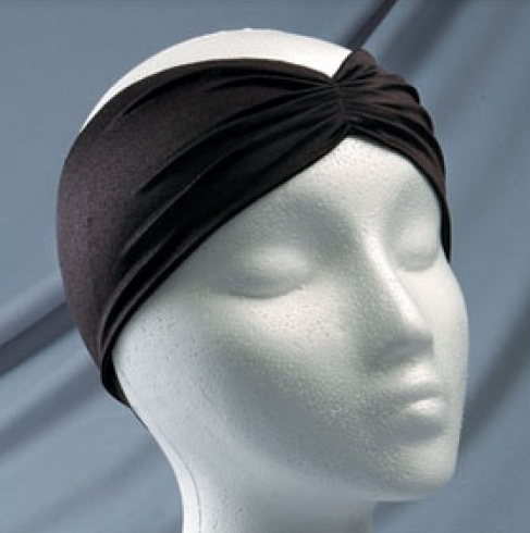 2″ Lycra Headband With Front Pleat